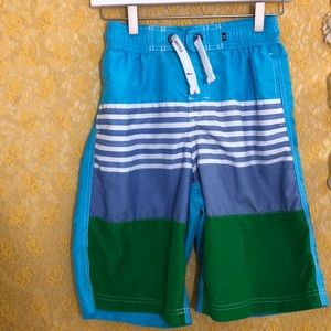 Náutica board shorts boys sz 14/16 teal/navy